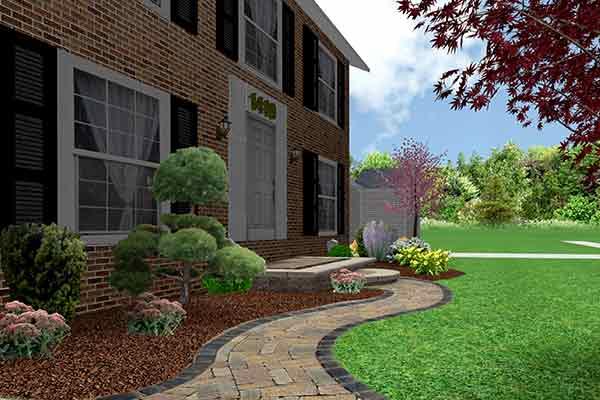 3D Landscape Design Image