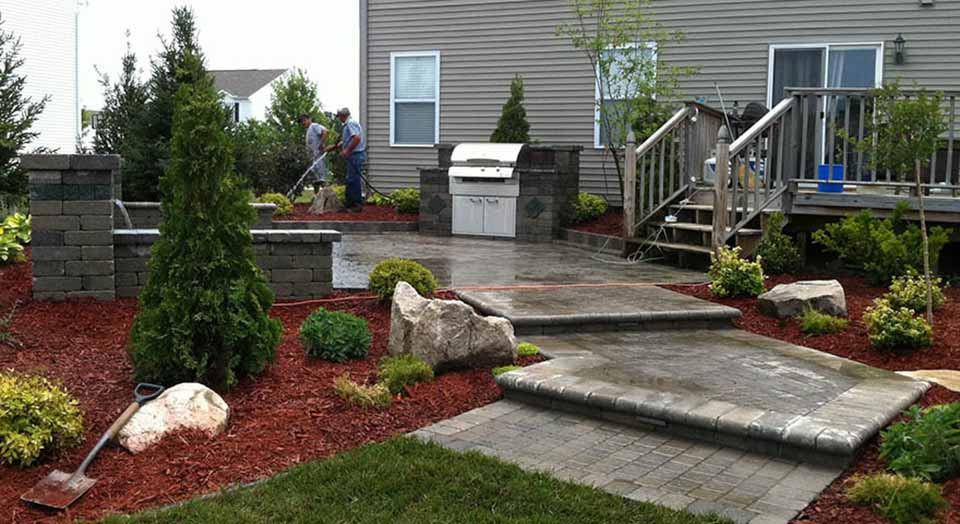 Expand Your Living Space To The Outdoors With A Pergola, Fire Pit, Fire  Place, Water Feature, Built In BBQ, Landscape Lighting, Patio, Pillars, ...