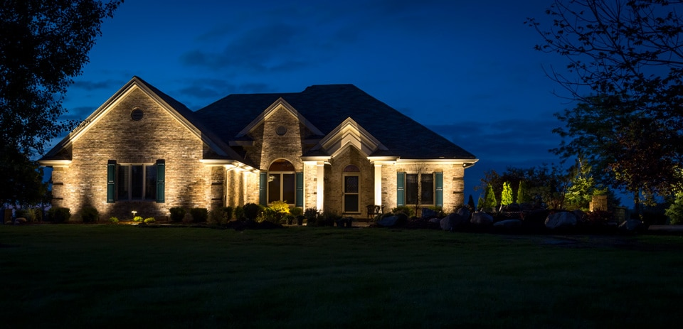 Safety security beauty led landscape lighting installation view larger aloadofball Gallery